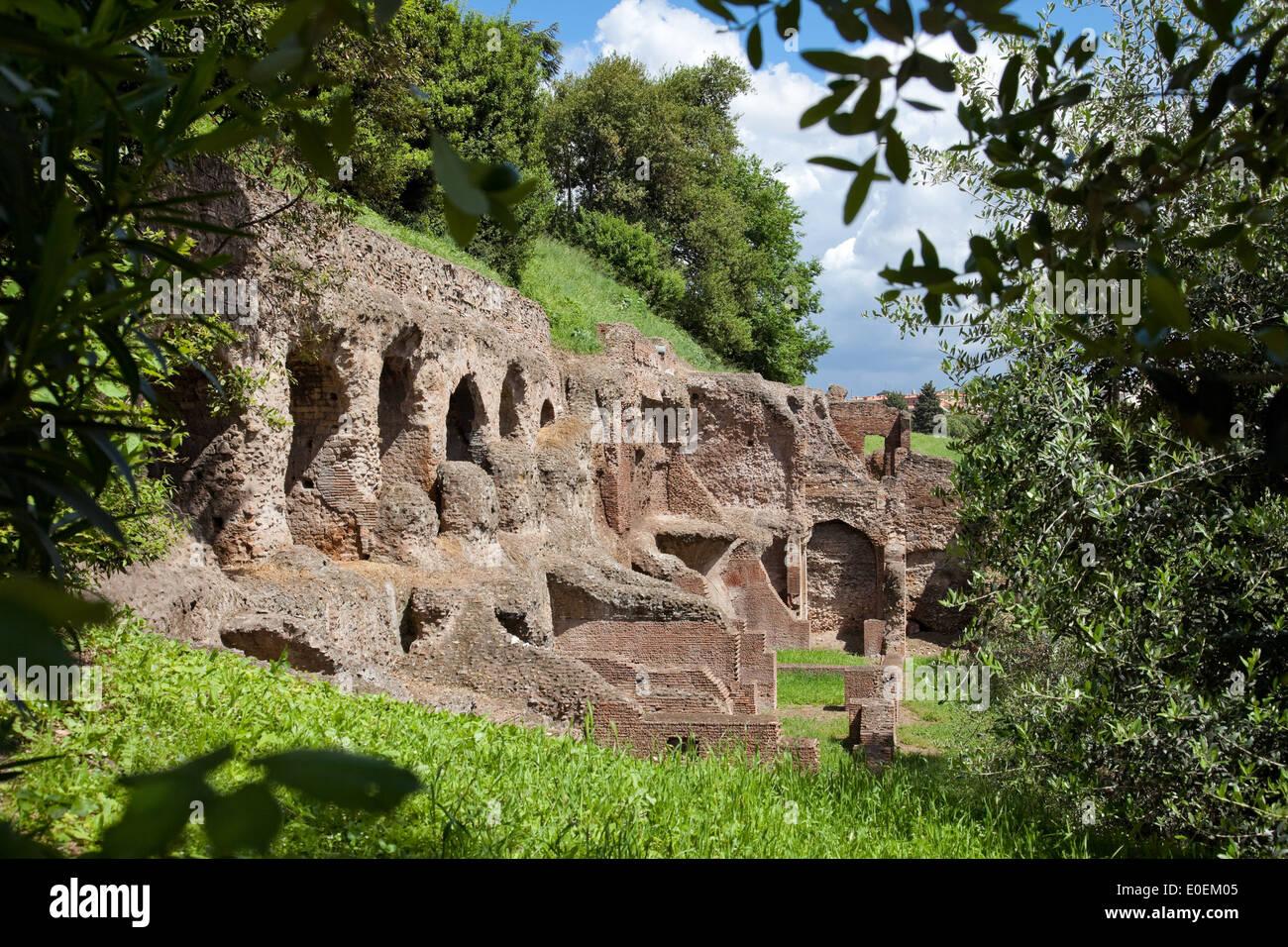 Forum Romanum, Rom, Italien - Forum Romanum, Rome, Italy - Stock Image