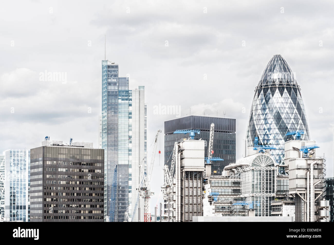 City of London (financial district), UK - Stock Image