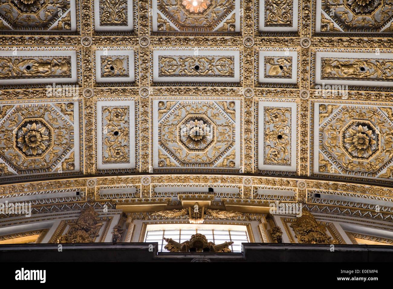 Petersdom, Vatikan - St. Peter's Basilica, Vatican - Stock Image