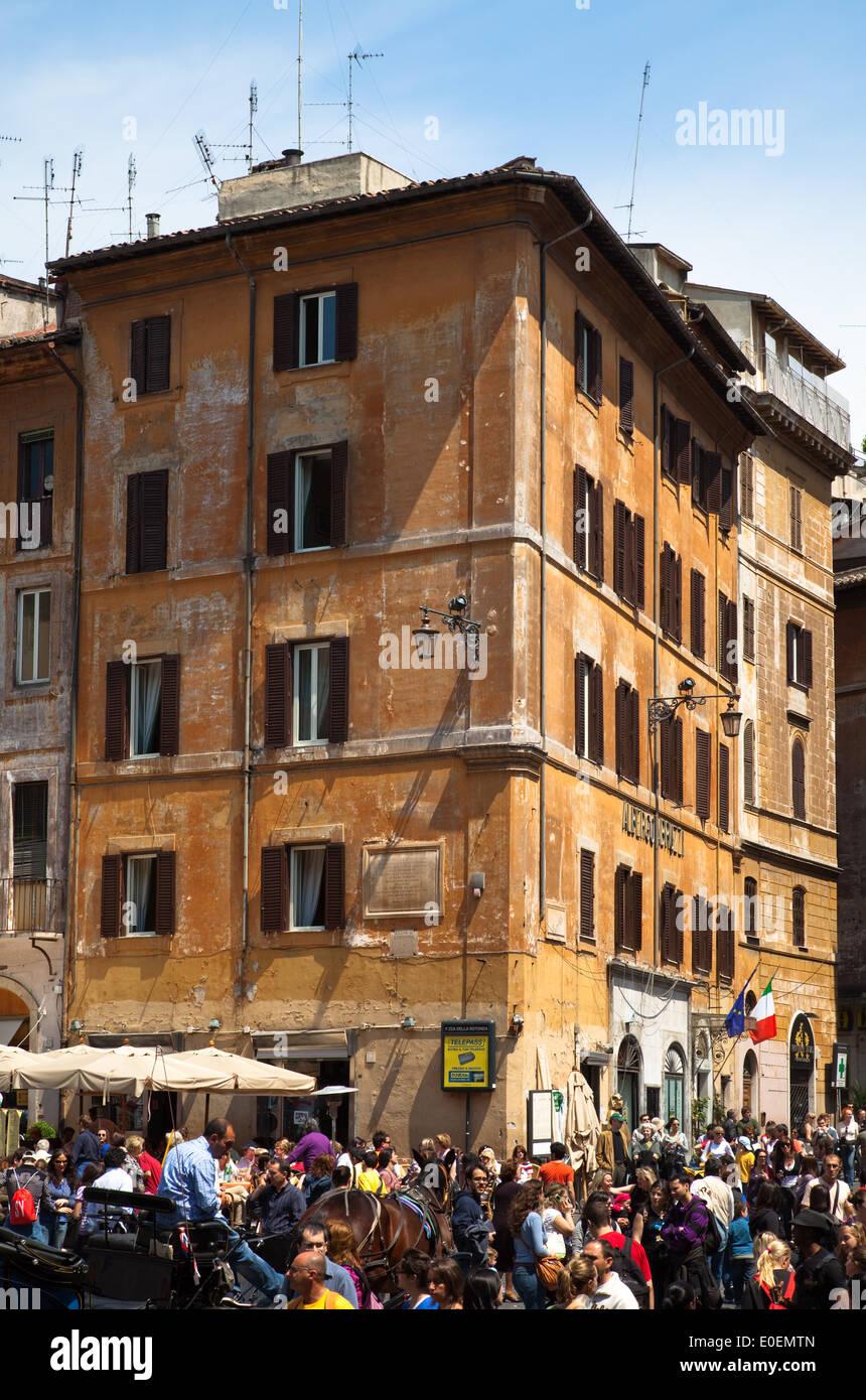 Piazza Navona, Rom, Italien - Piazza Navona, Rome, Italy Stock Photo