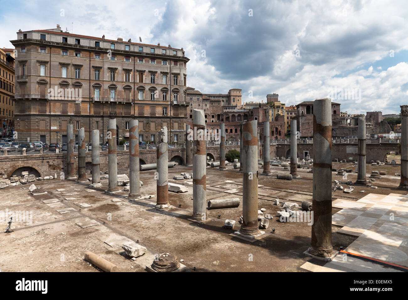 Forum Imperiali, Rom, Italien - Forum Imperiali, Rome, Italy - Stock Image