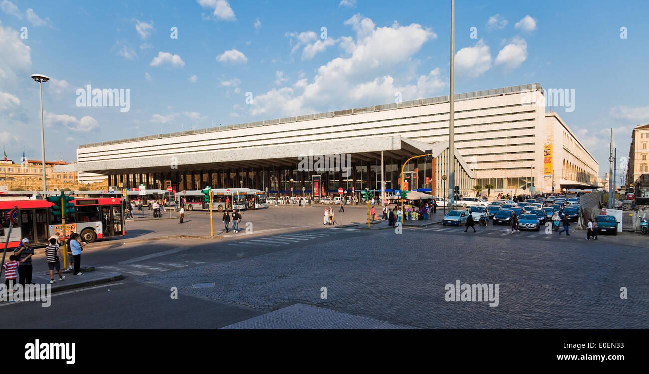Hauptbahnhof, Rom, Italien - Central Station, Rome, Italy - Stock Image