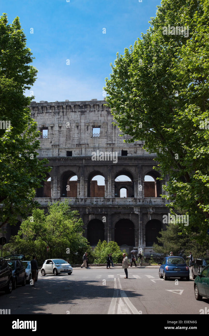 Kolosseum, Rom, Italien - Colosseum, Rome, Italy Stock Photo