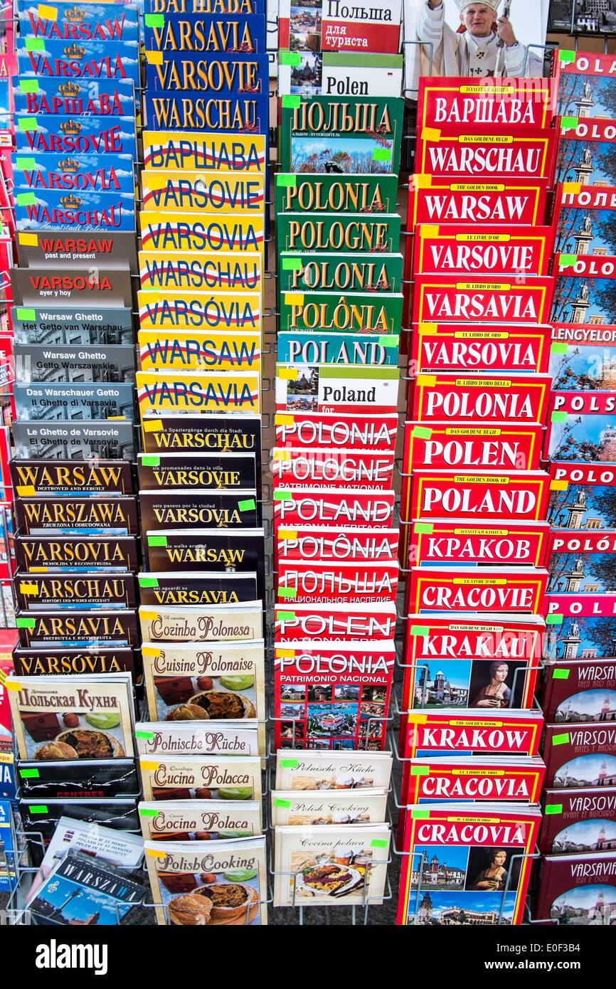 Poland travel warsaw guide guides international - Stock Image