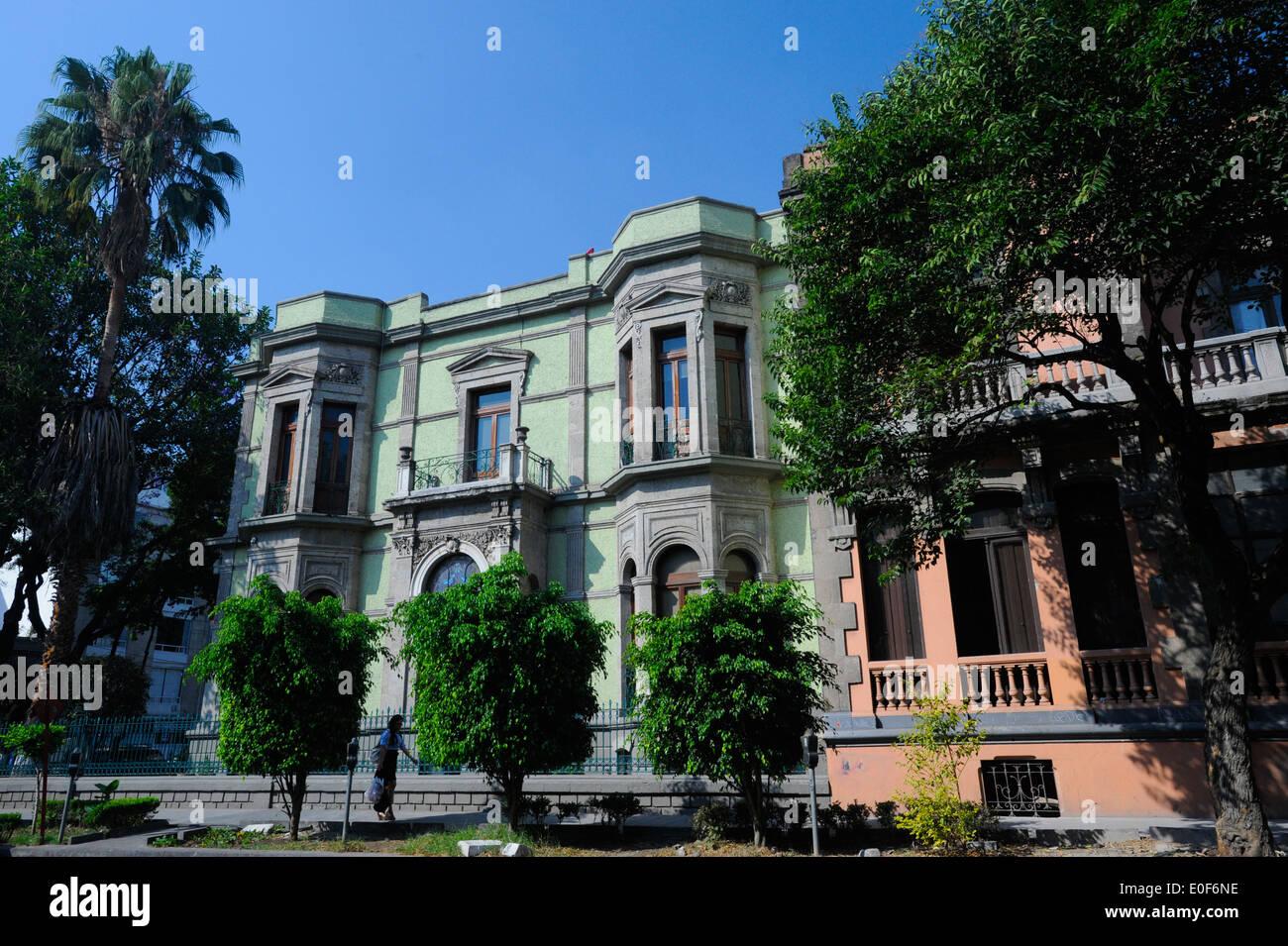 Zona Rosa neighborhood of Mexico City, Mexico - Stock Image
