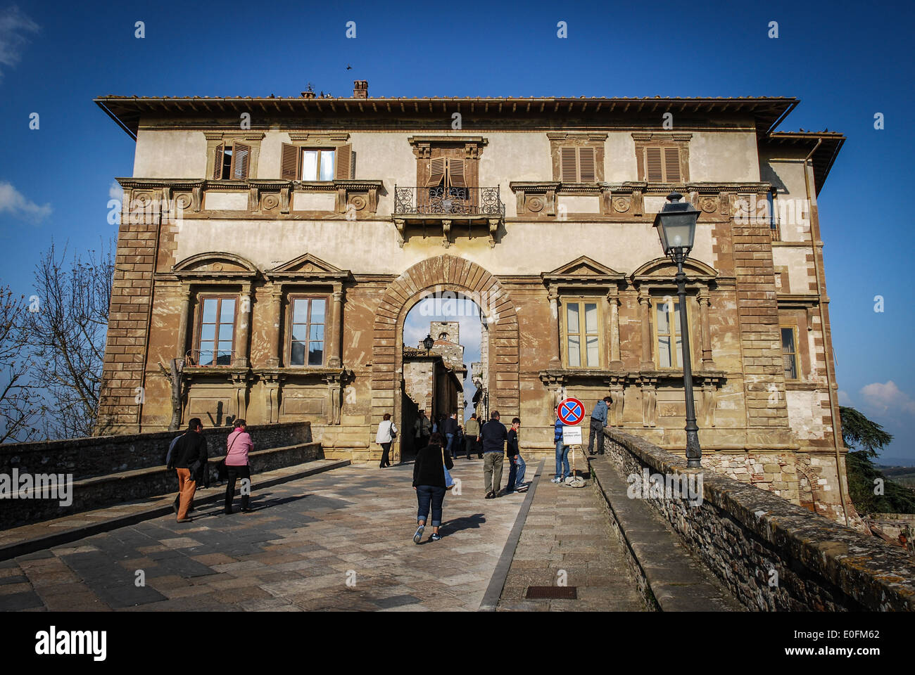 Colle Val d'Elsa, Tuscany, Italy - Stock Image