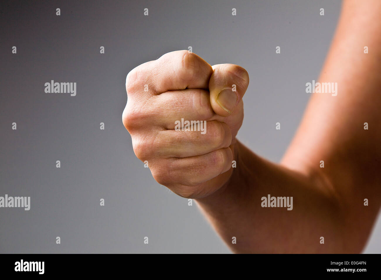Fist , Faust - Stock Image