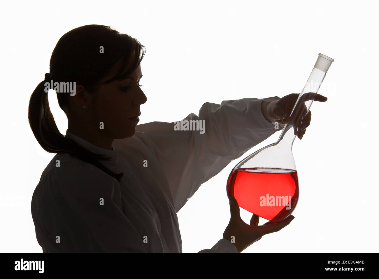 Symbolic picture research , Symbolbild Forschung - Stock Image