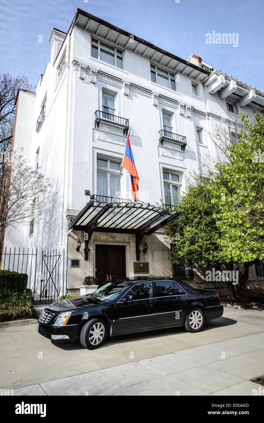 Embassy of Armenia, 2225 R Street NW, Washington DC