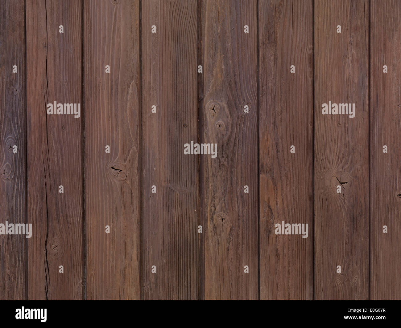 Old wooden planks texture - Stock Image
