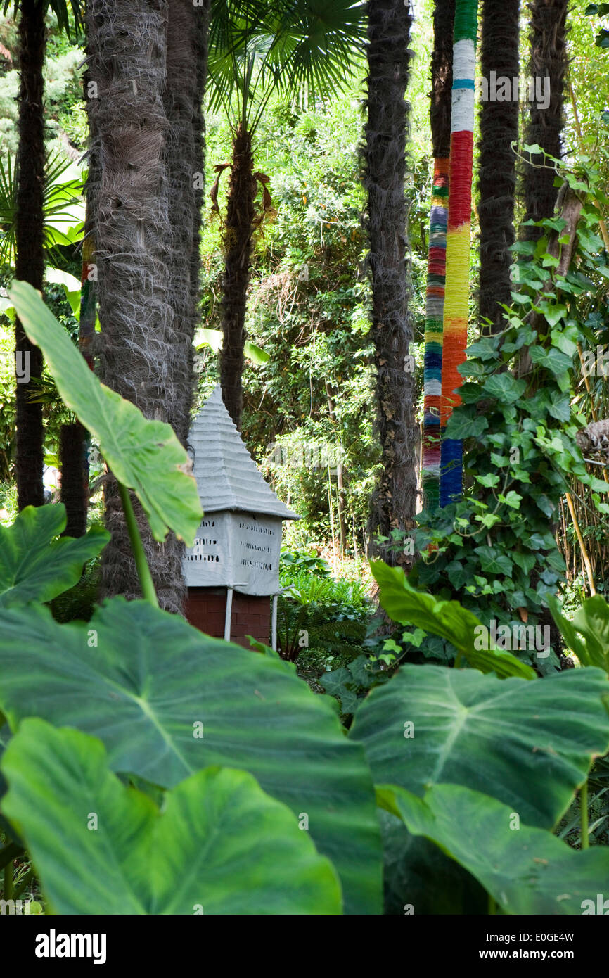 Garden With Little Lake Stock Photos & Garden With Little Lake Stock