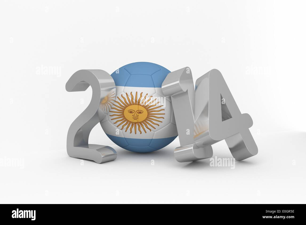 Argentina world cup 2014 - Stock Image