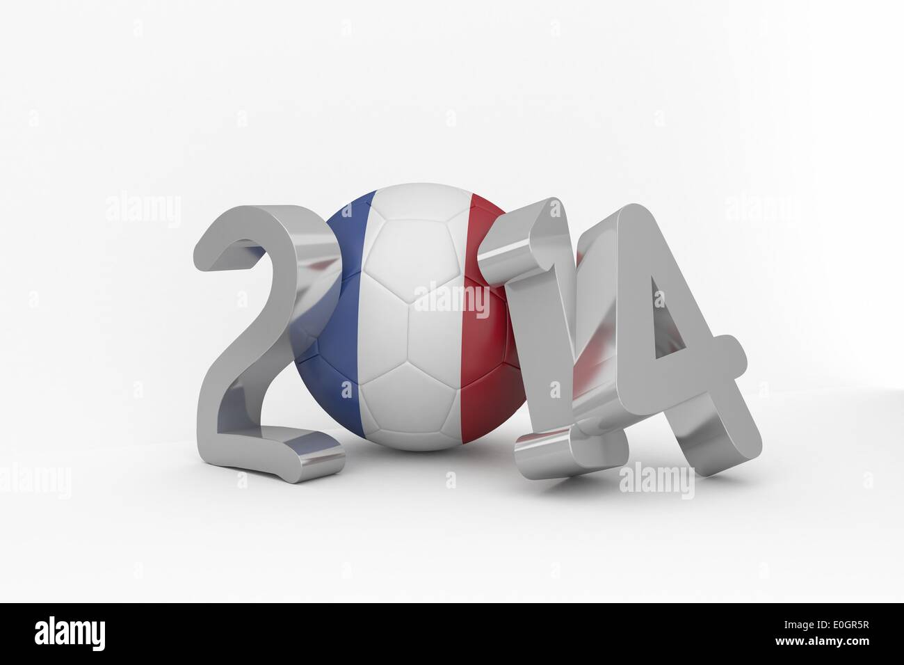 France world cup 2014 - Stock Image
