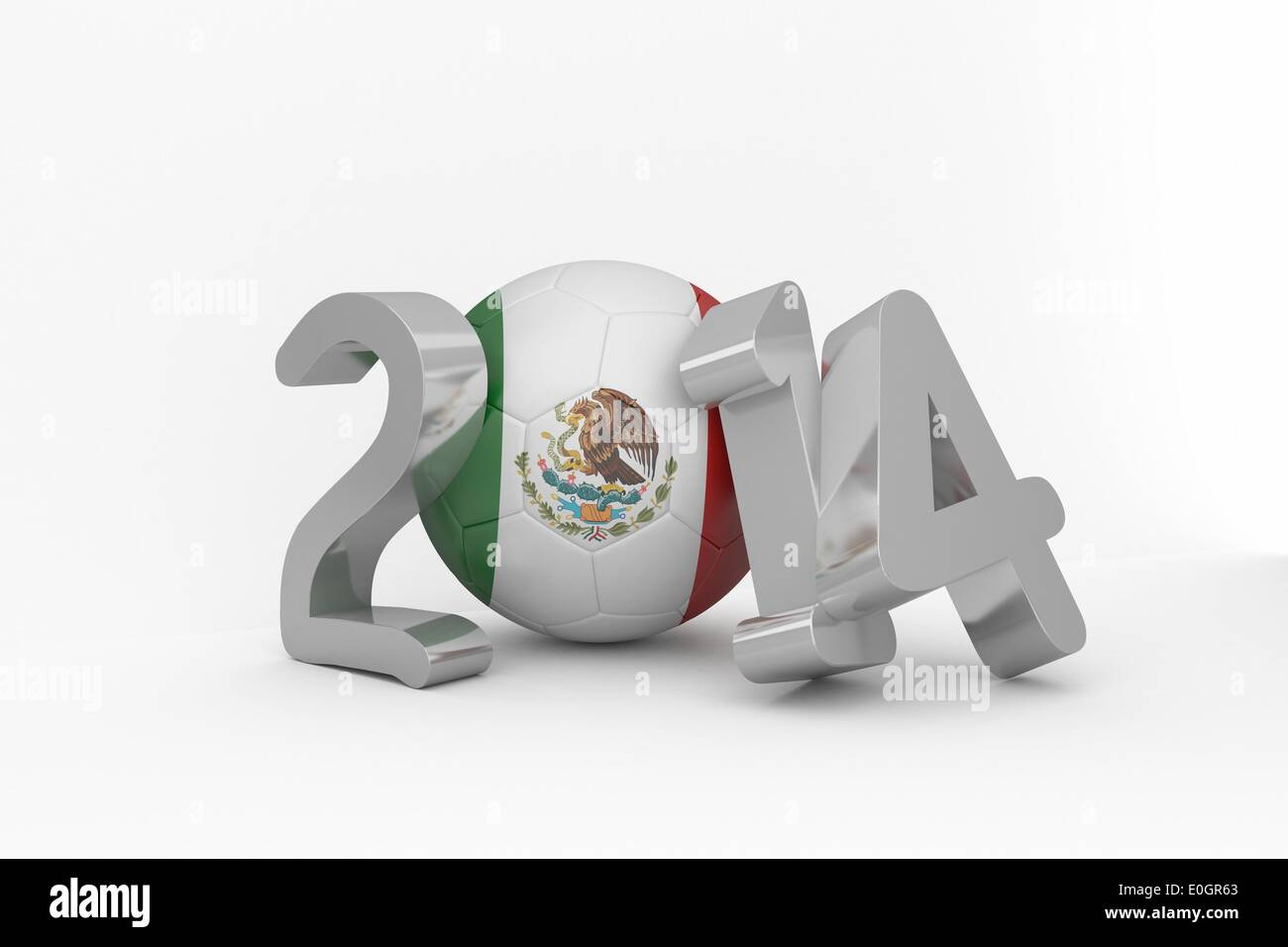 Mexico world cup 2014 Stock Photo