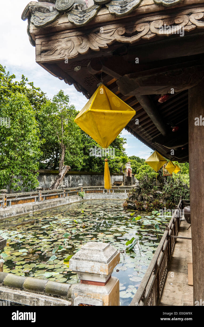 Old imperial city of Hue, Vietnam, Asia Stock Photo