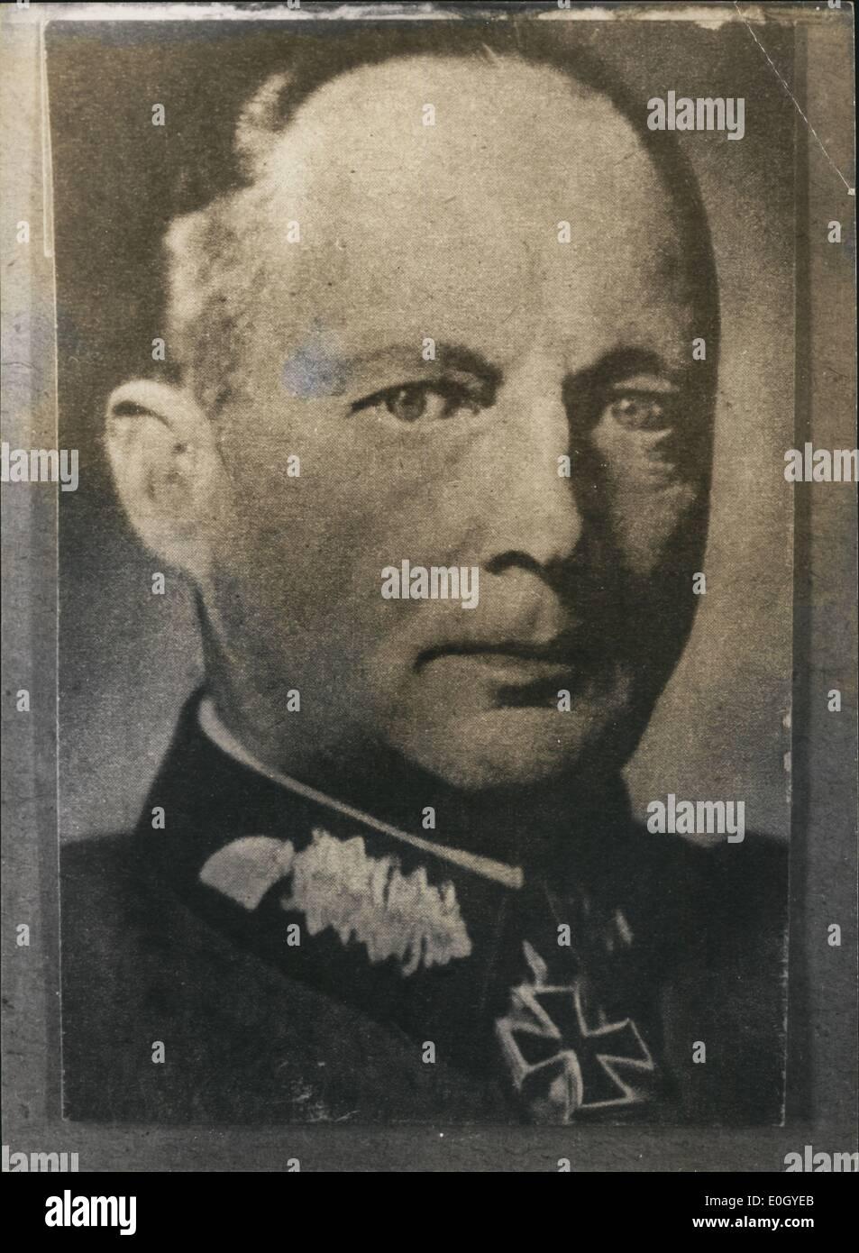 Jan 1, 1940 - Field Marshall Von kluge exact date unknown - Stock Image