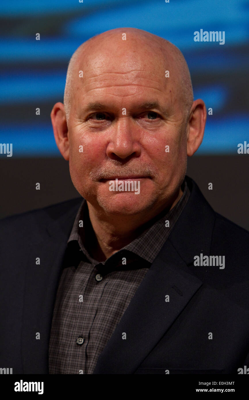 American Photographer Steve McCurry During A Conference At Torino Book Fair