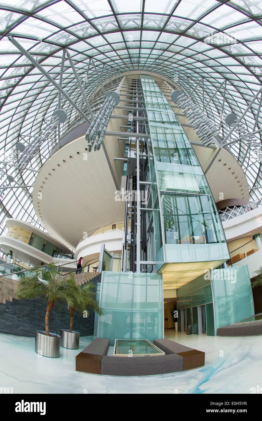 Qatar, Doha, The Torch Hotel interior Stock Photo