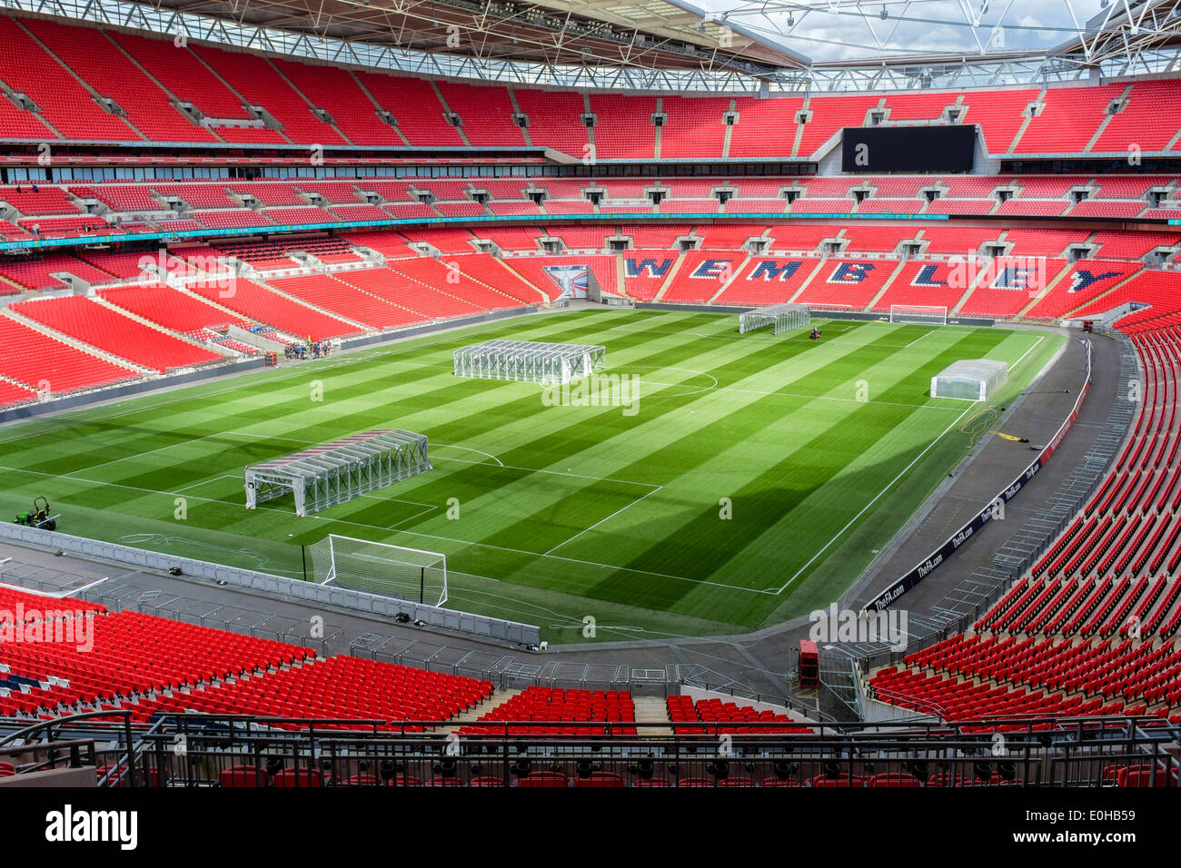 Wembley Stadium. London UK - Stock Image