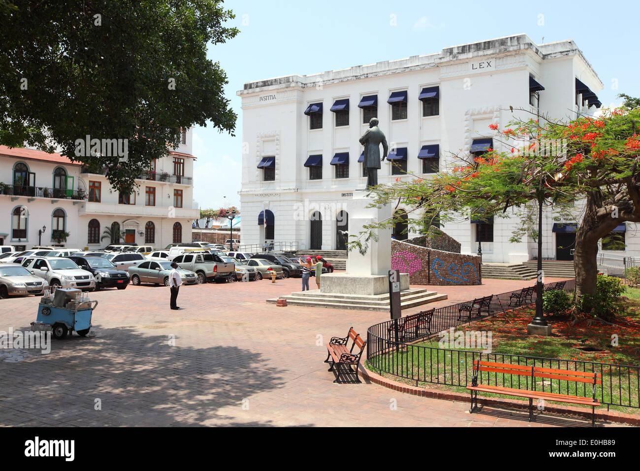 Instituto Nacional de Cultura, Ciudad de Panamá, Panama - Stock Image