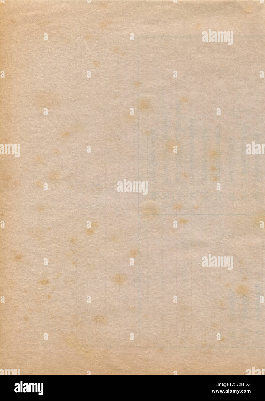 Old paper texture - Stock Image