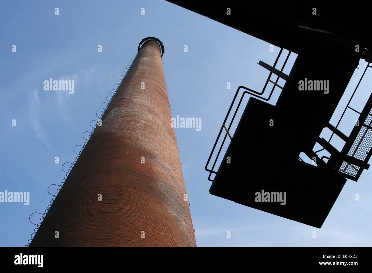 Deutschland, Essen, Zeche Zollverein, UNESCO Welterbe, Germany, Essen, Zeche Zollverein Coal Mine Industrial Complex - Stock Image