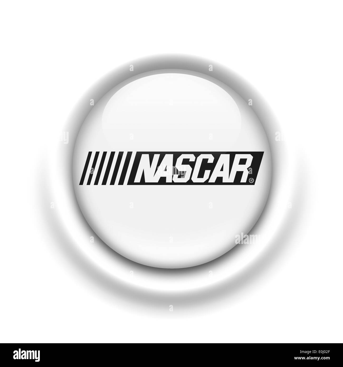 Nascar Logo Icon Symbol Flag Emblem Stock Photo 69236679 Alamy