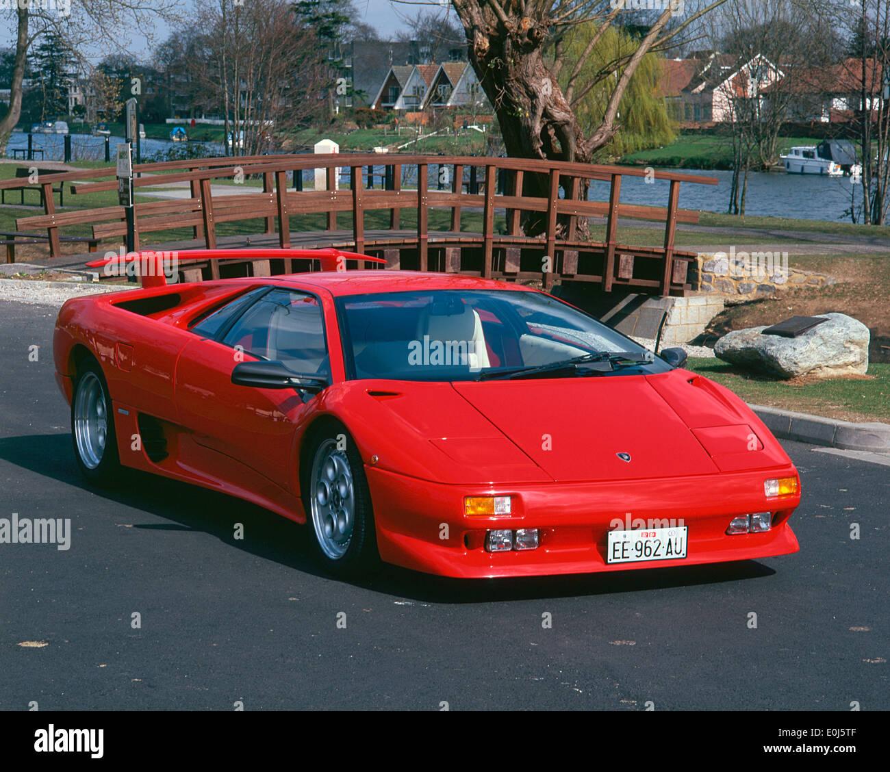 Lamborghini Diablo: Lamborghini Diablo Stock Photos & Lamborghini Diablo Stock