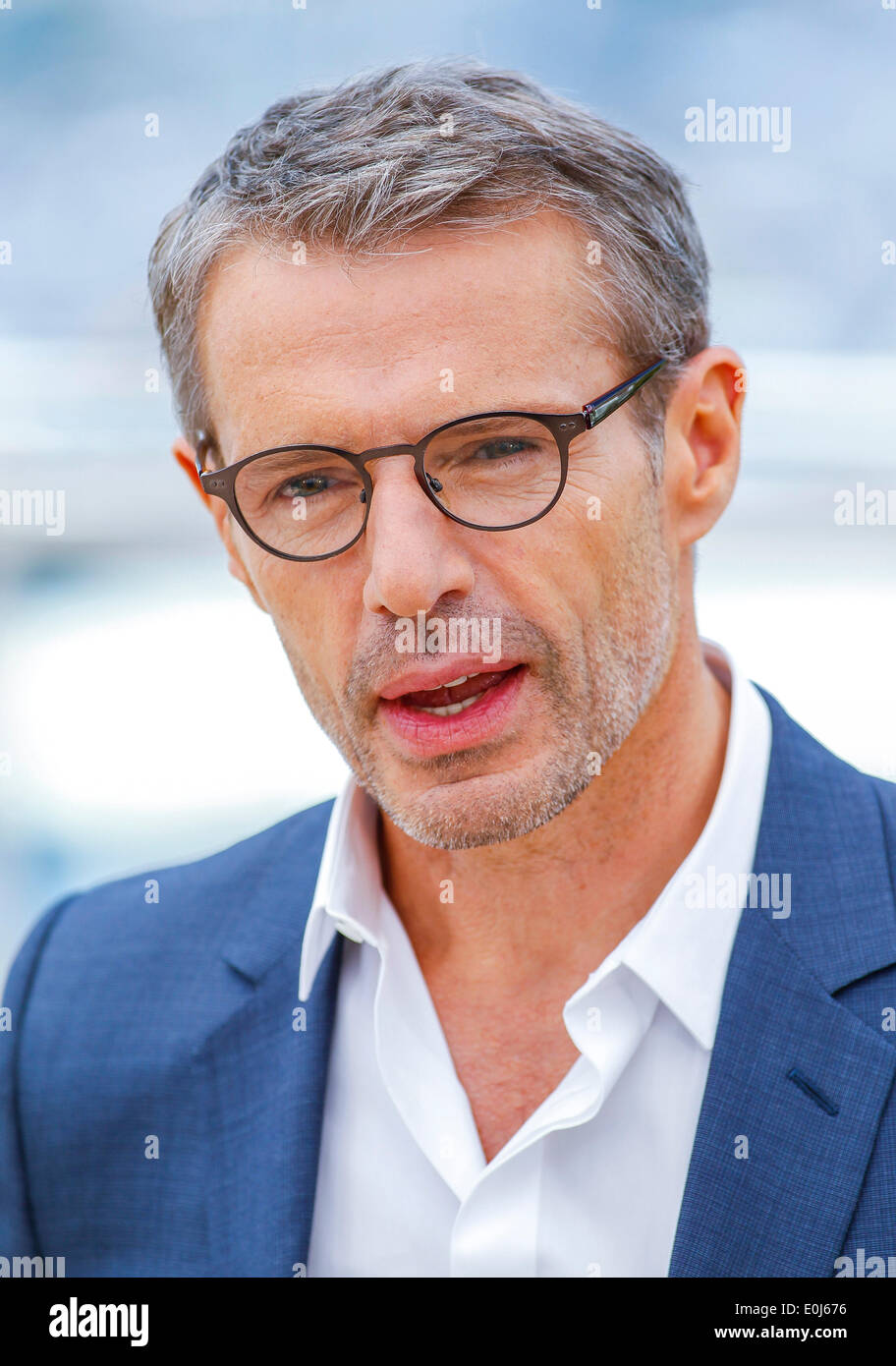 LAMBERT WILSON MASTER OF CEREMONIES PHOTOCALL. 67TH CANNES FILM FESTIVAL CANNES  FRANCE 14 May 2014 - Stock Image