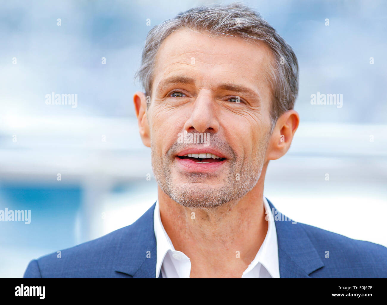 LAMBERT WILSON MASTER OF CEREMONIES PHOTOCALL. 67TH CANNES FILM FESTIVAL  CANNES FRANCE 14 May 2014
