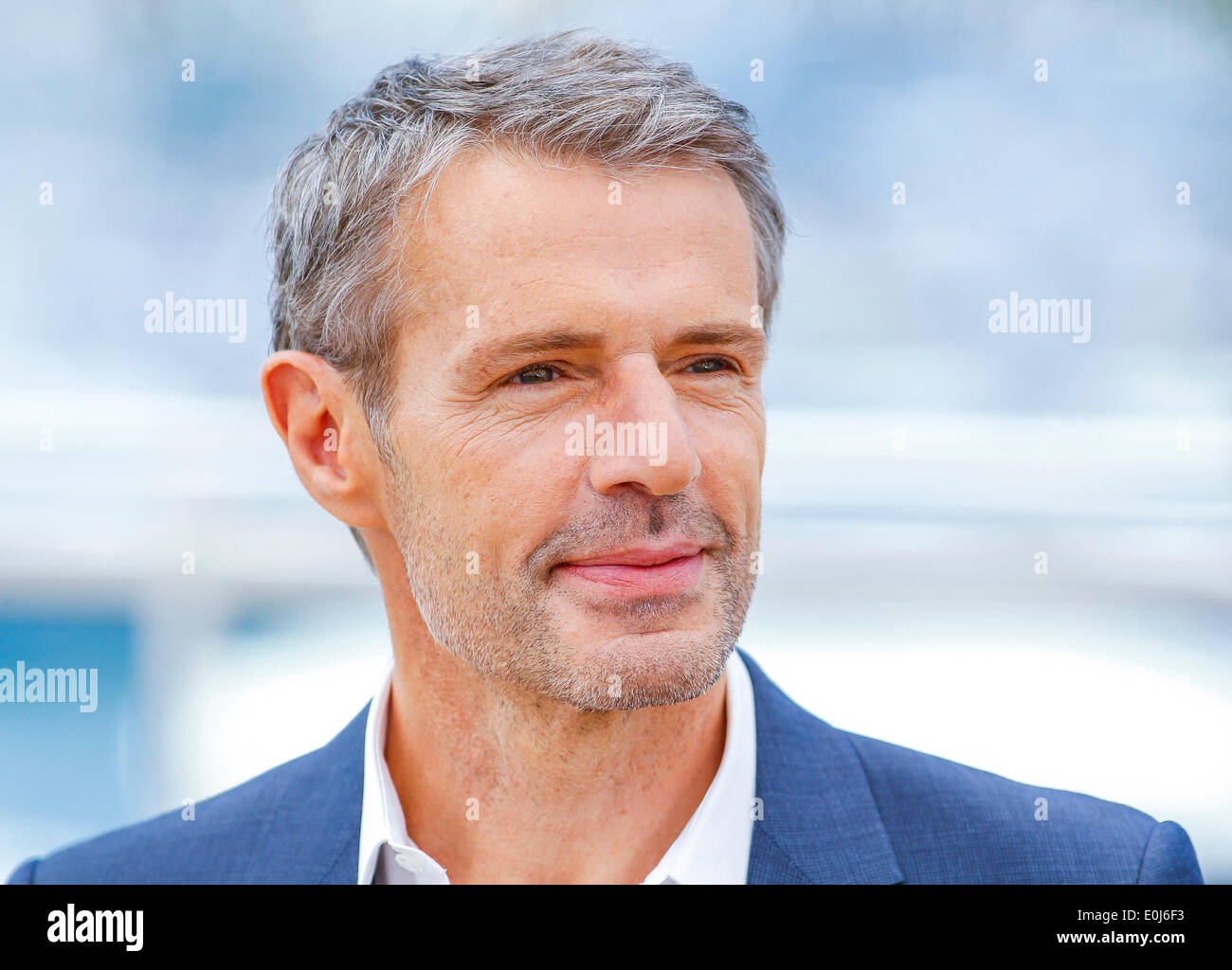 LAMBERT WILSON MASTER OF CEREMONIES PHOTOCALL. 67TH CANNES FILM FESTIVAL CANNES  FRANCE 14 May 2014 Stock Photo