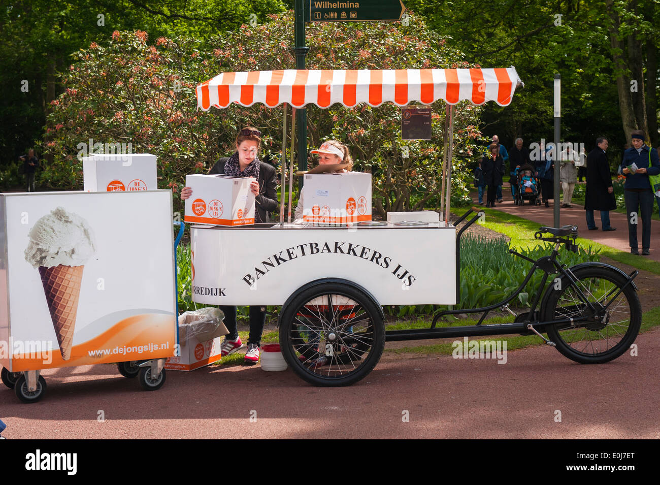 Ice Cream Hot Dog Cart