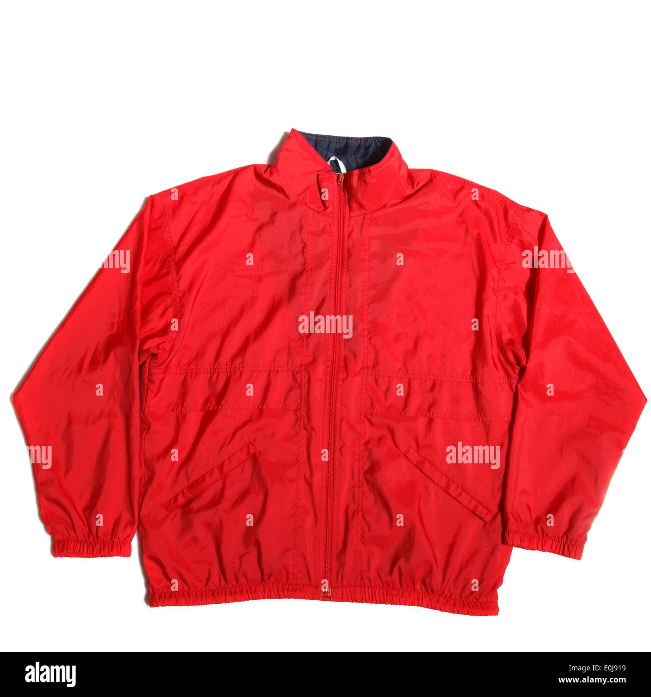 red jacket - Stock Image