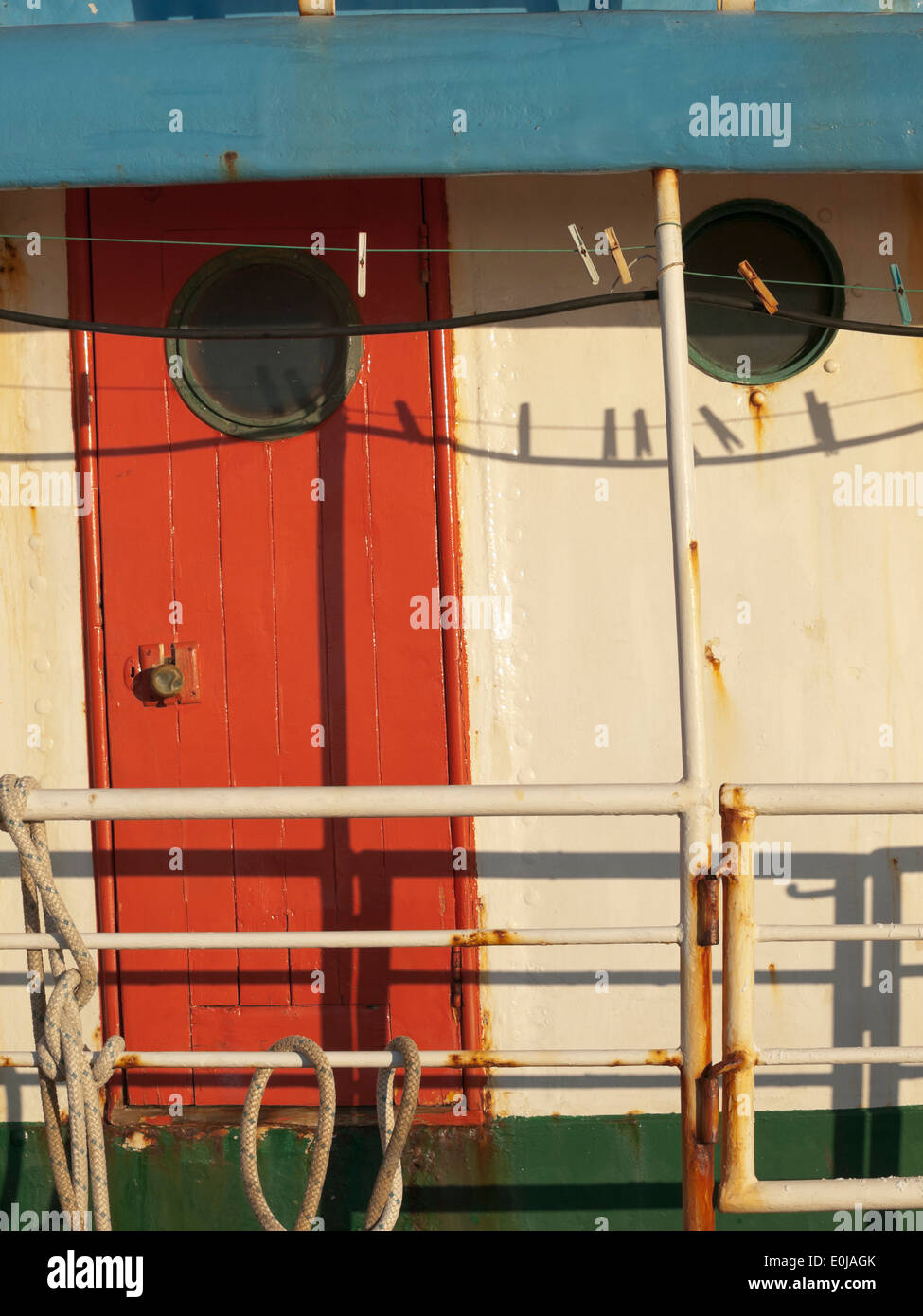 Boat Cabin Door High Resolution Stock Photography And Images Alamy