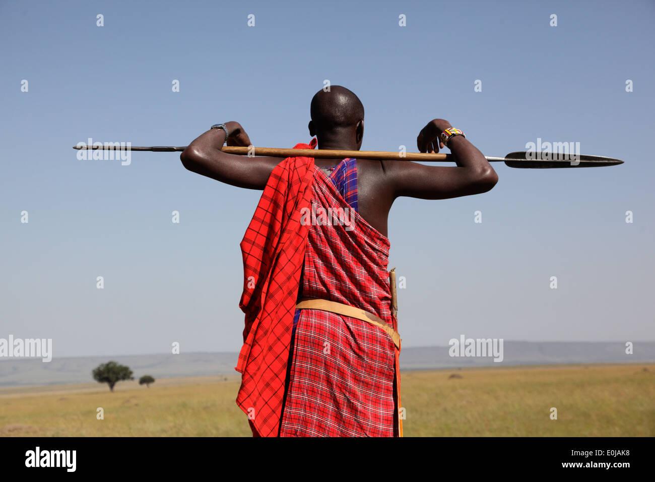 Masai Spear Stock Photos & Masai Spear Stock Images - Alamy