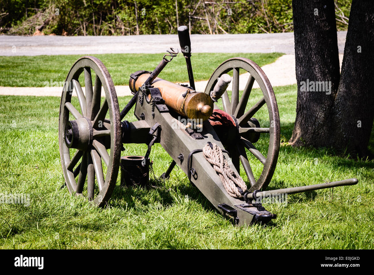 Carpenter's Battery, 12-Pound Mountain Howitzer, Fairfax Civil War