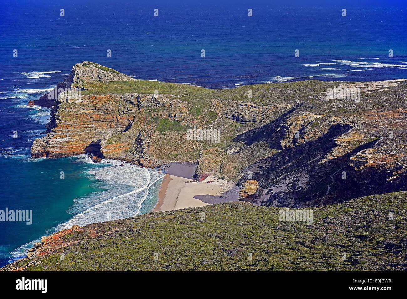 Kap der guten Hoffnung, Cape of good Hope, West Kap, western Cape, Suedafrika, Afrika - Stock Image
