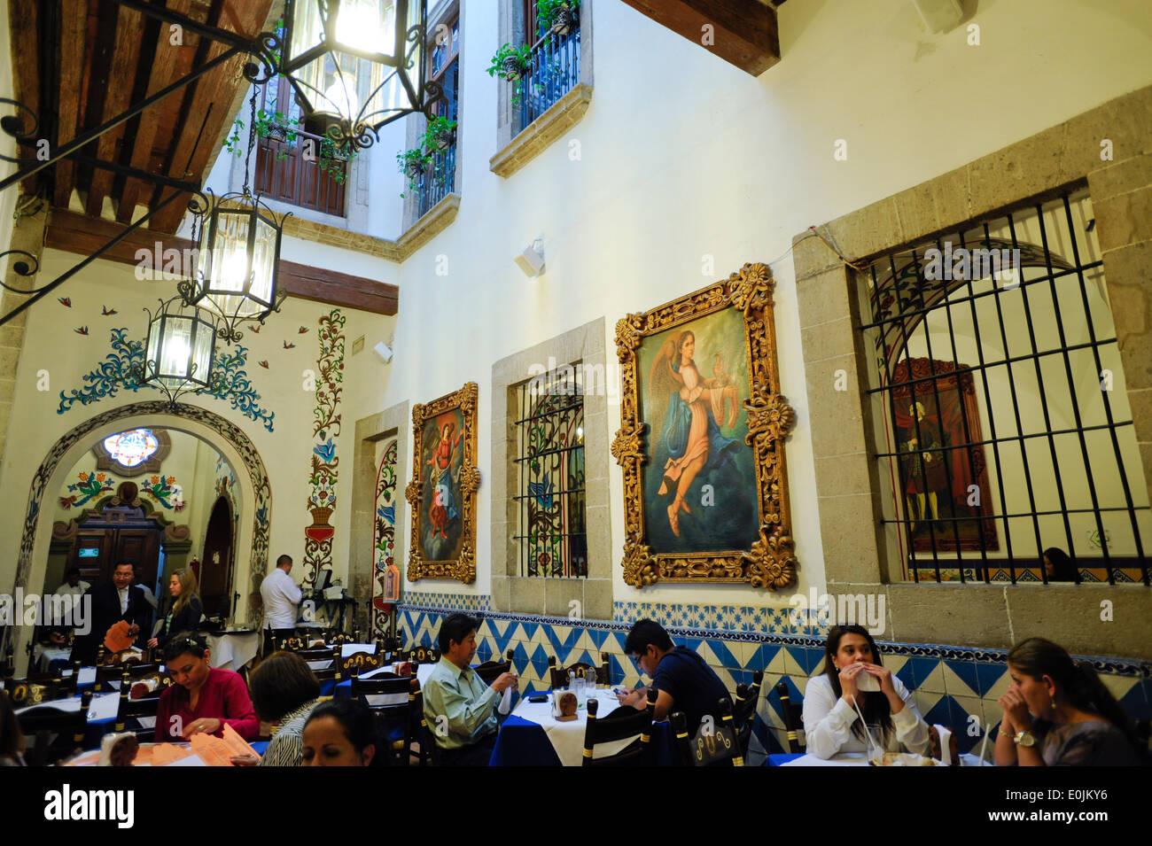 Cafe Tacuba Mexico City