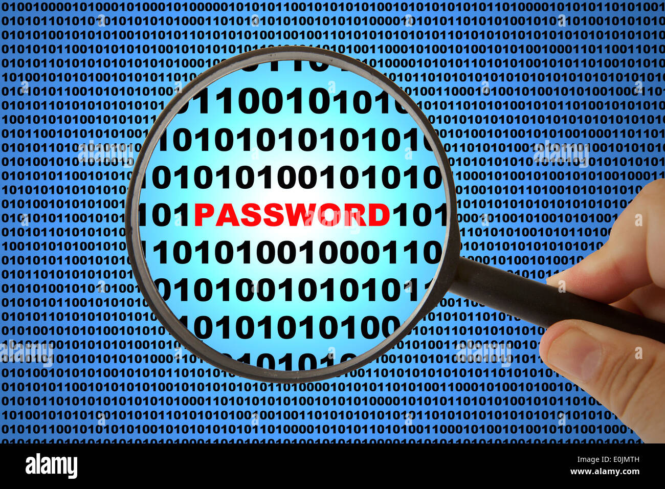 Computer Altered Stock Photos Images Alamy Circuit Board And Binary Code Forming A Mysterious Night Landscape Of Security Concept Shot With Password Text Image