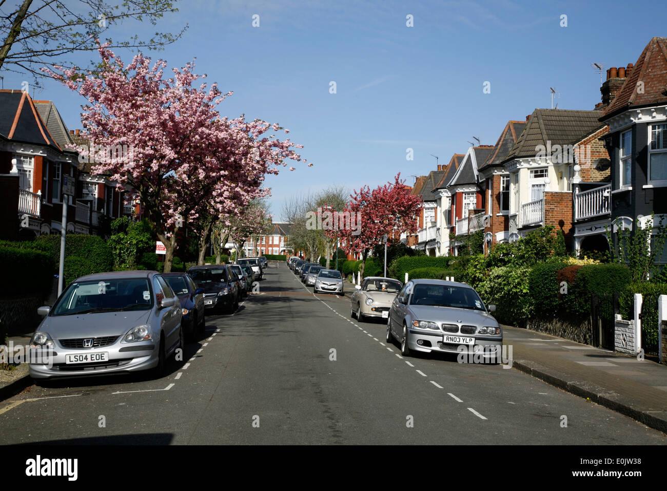 Dewsbury Road, Dollis Hill, London, UK - Stock Image