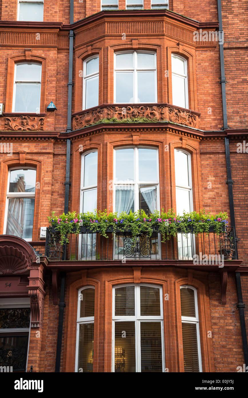 Mansion house, Green Street, W1, Mayfair, London, UK - Stock Image