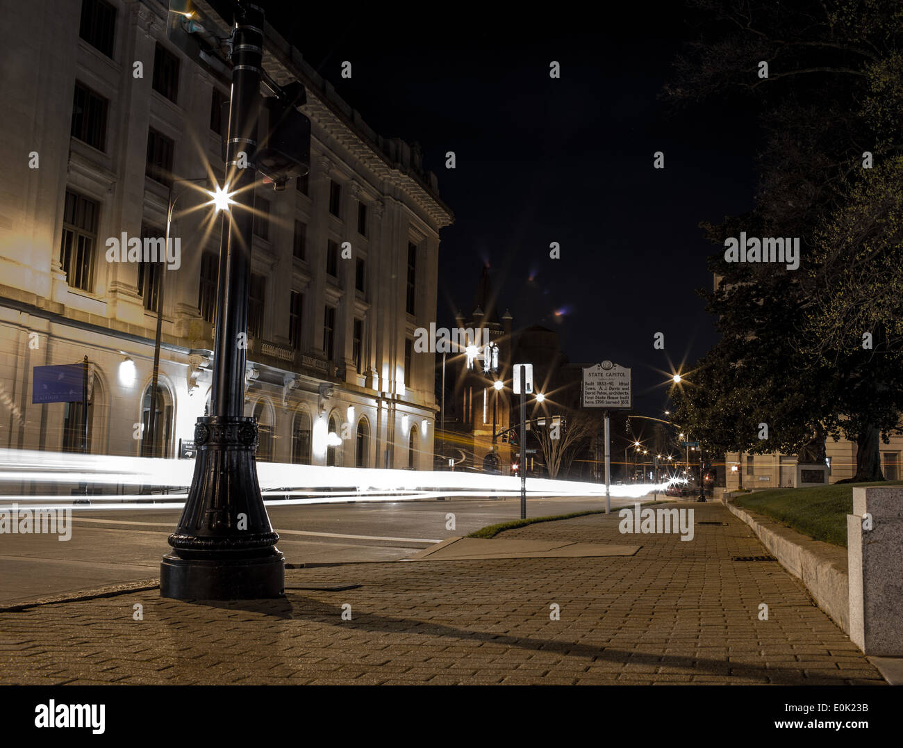 Downtown City Scape - Stock Image