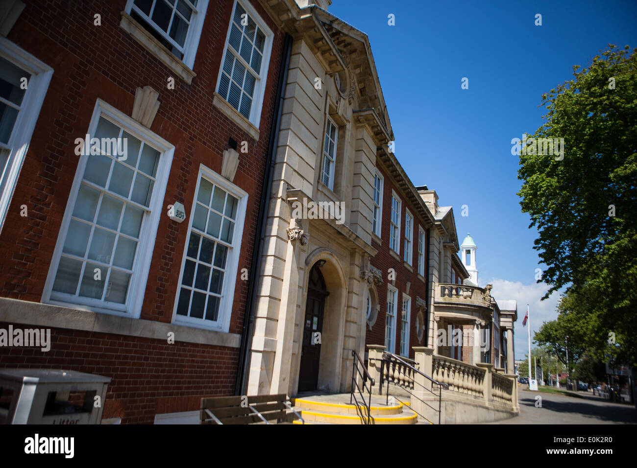 Worthing Museum and art Gallery - Stock Image