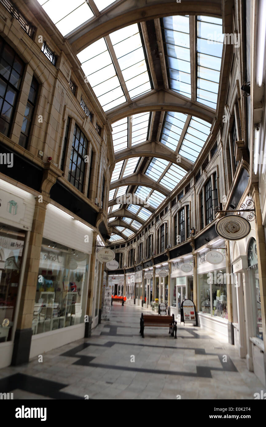 The Royal Arcade shopping centre, Worthing Stock Photo