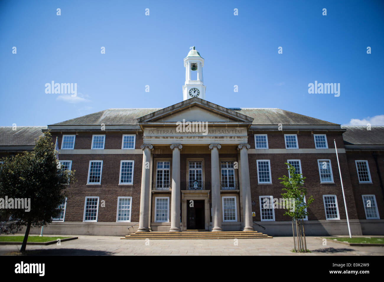 Worthing Town Hall on a sunny day Stock Photo