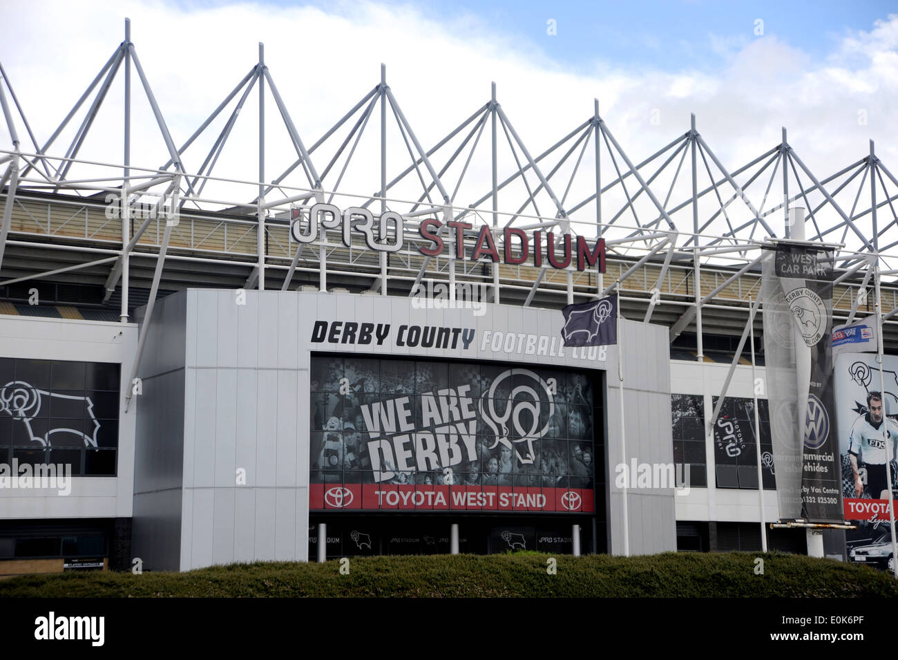 Derby County Stadium High Resolution Stock Photography And Images Alamy