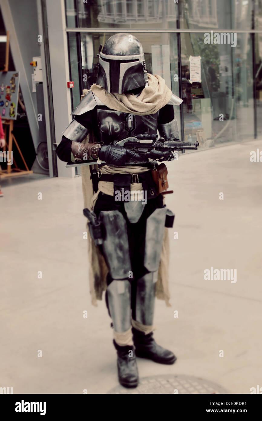star wars cosplay bounty hunter stock photo 69269397 alamy