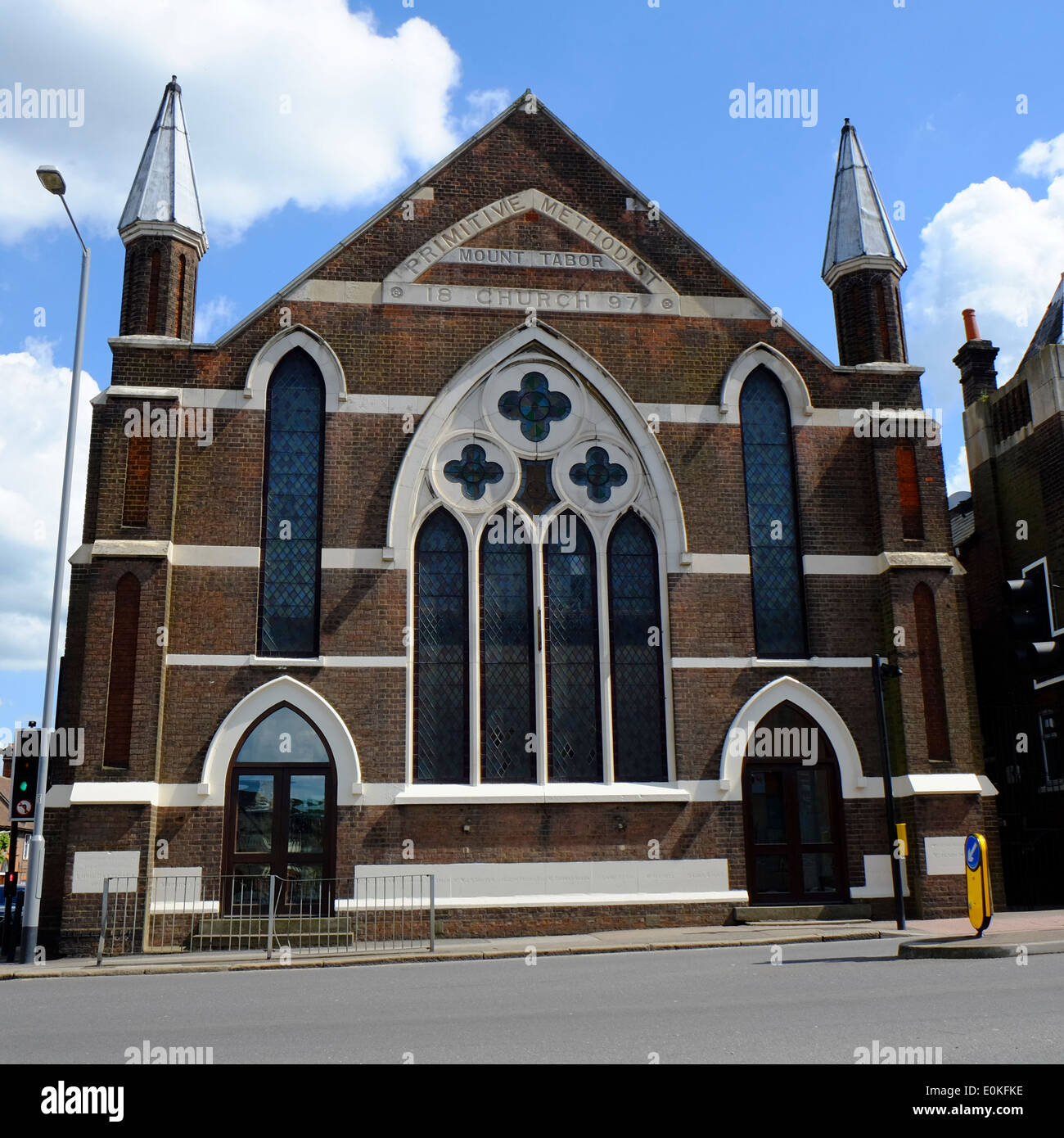 Primitive Methodist Church (Mount Tabor) in Luton - Stock Image