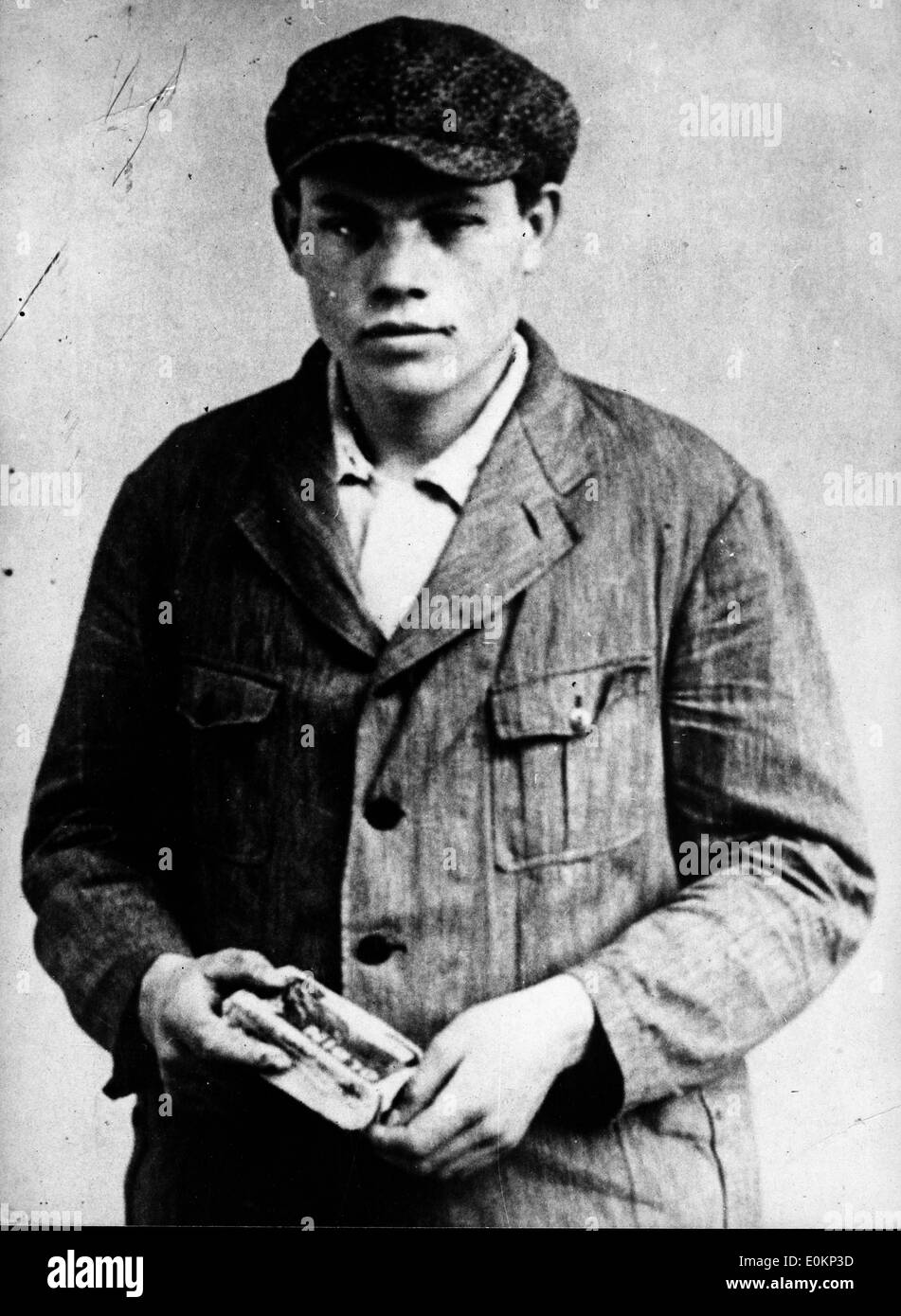Marius Van Der Lubbe, Dutch Communist tried at Liepzig for setting fire to the Reichstag - Stock Image