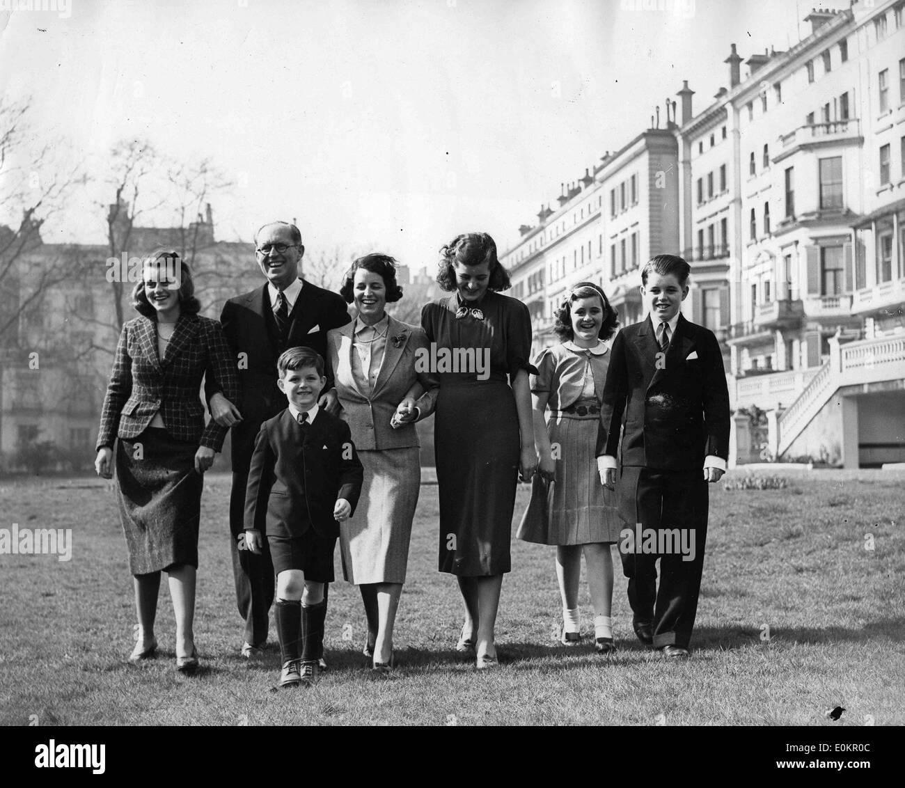 March 01, 1938 - London, England, United Kingdom - The Kennedy ...
